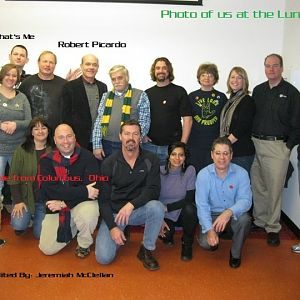 Picardo with a group of us Trek fans at the Louisville Science Center for the Star Trek Exibit.