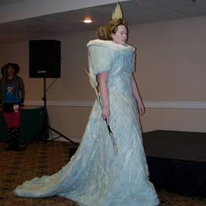 Jadis White Witch of Narnia...won Best Novice in ComicCon Masquerade 2007