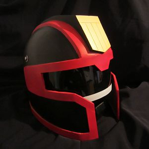 Real world Judge dredd helmet