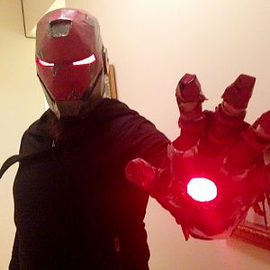Apocalyptic Iron Man Costume