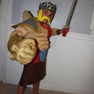 Barbarian King Kid
