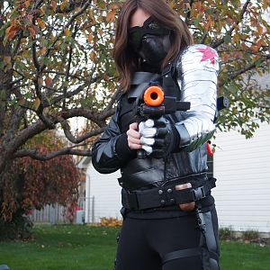 Brownie616 The Winter Soldier Costume for 2014 Halloween Contest