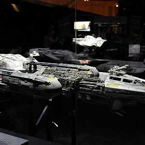 Rebel Alliance Y-wing Starfighter Used in the Film, built by Bill George