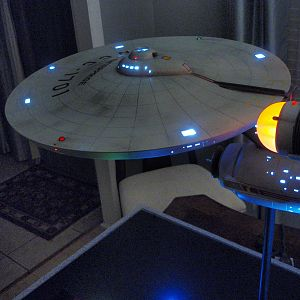 Enterprise NCC-1701 with laser