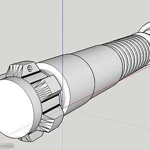 Luke / Ben v3 shared stunt Lightsaber