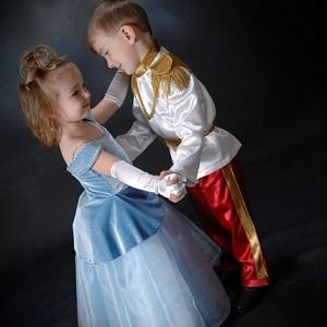 Dancing Cinderella and Prince Charming