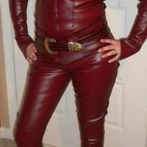 Catsuit with belts