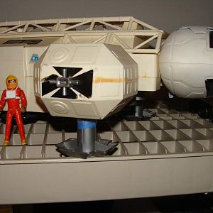 This is my EAGLE ONE that Im working on, as you can see SPEED RACER movie figures are perfectly scaled and the figure has better articulation.  I put