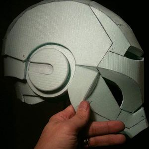 Finished Foam Helmet