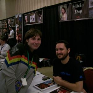 My Wesley Crusher Sweater (and Wil Wheaton). :)