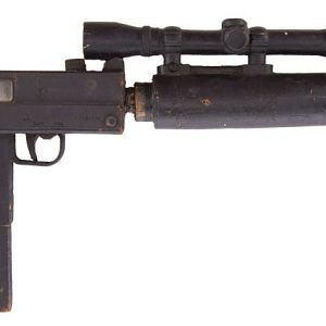 Prop Store screen used stunt EFNY MAC10