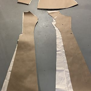 Coat cut out
