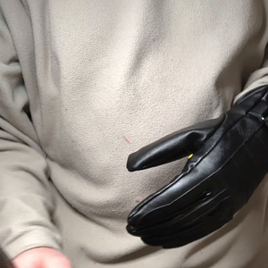 Glove Button test