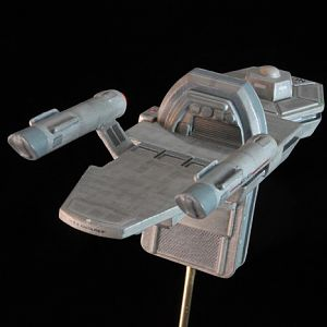 "USS Antares from Remastered Episode of ""Charlie X"""