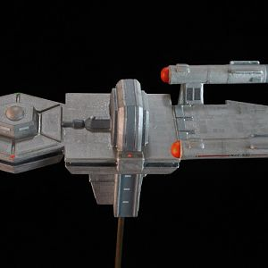 """USS Antares from Remastered Episode of """"Charlie X"""""""