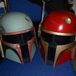 Mando Helment Before and After