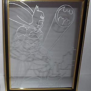 BATMAN Mirror. Done for Secret Santa.