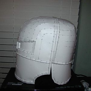 Ironman MK1 helmet, this is a pep file made by JTM1997 that I unfolded, this is an up and coming project