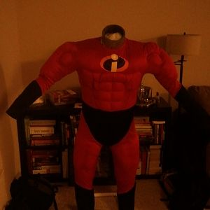 The famous Mr. I suit on my Duct Tape Dummy.