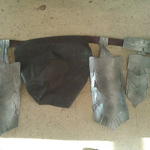Bumflap, leg armour mk1 and groin flap