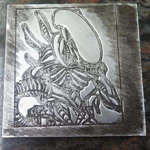 Alien Engraving