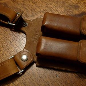 Uncharted 1 leather holster magazine pouches