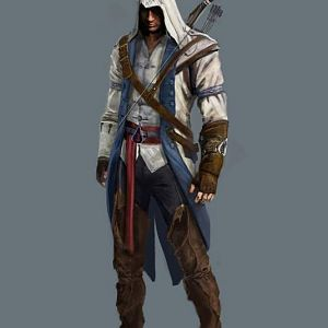 Assassin's Creed 3   Connor concept