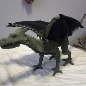 Dragon Stop-motion puppet I designed and built.
